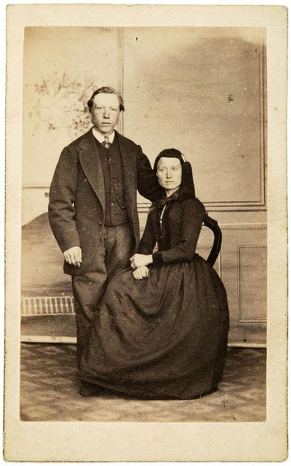 Guðný Halldórsdóttir z Grenjaðarstaður razem z mężem Benediktem Jónssonem z Auðnir/ fot. Islandzkie Muzeum Narodowe