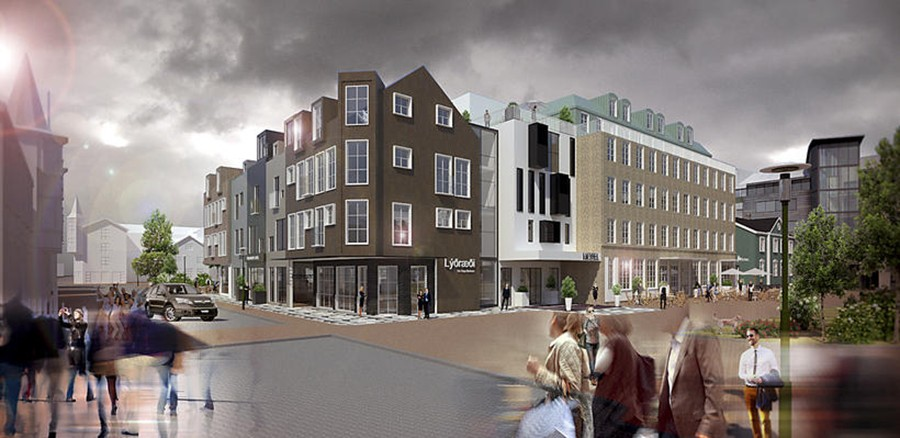 Projekt przebudowy placu