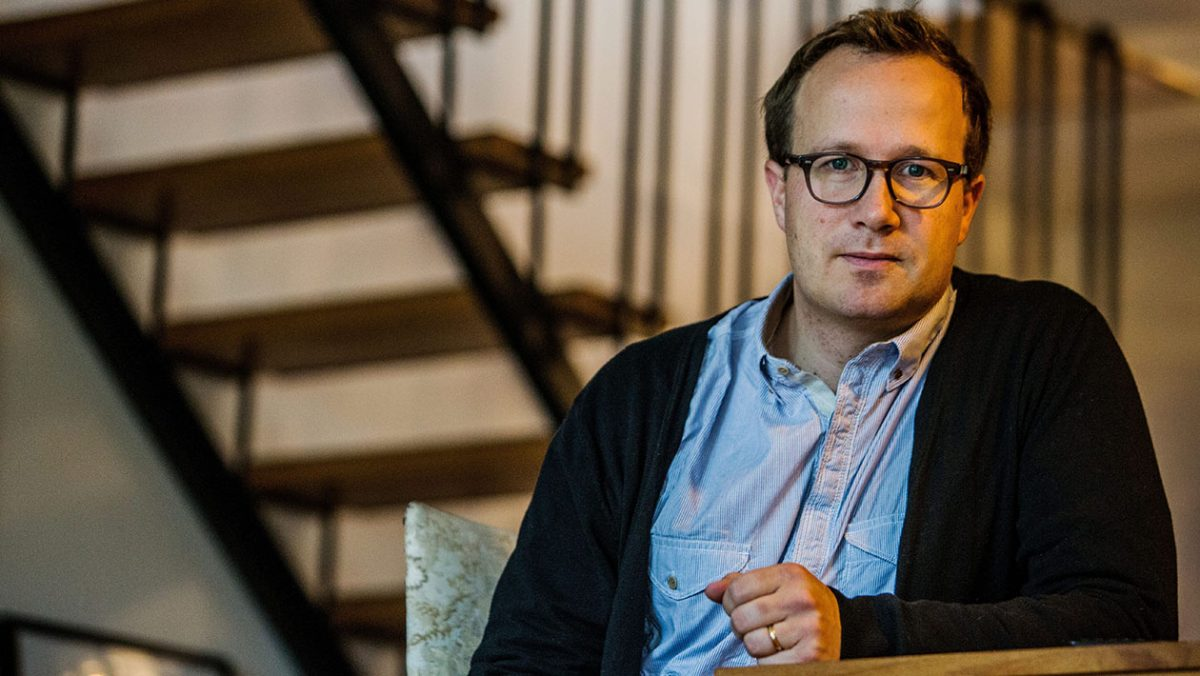 Andri Snær Magnason / fot. visir.is