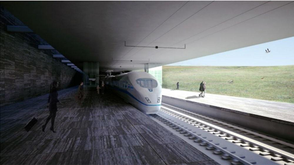 Projekt pociągu fot. Fluglestin