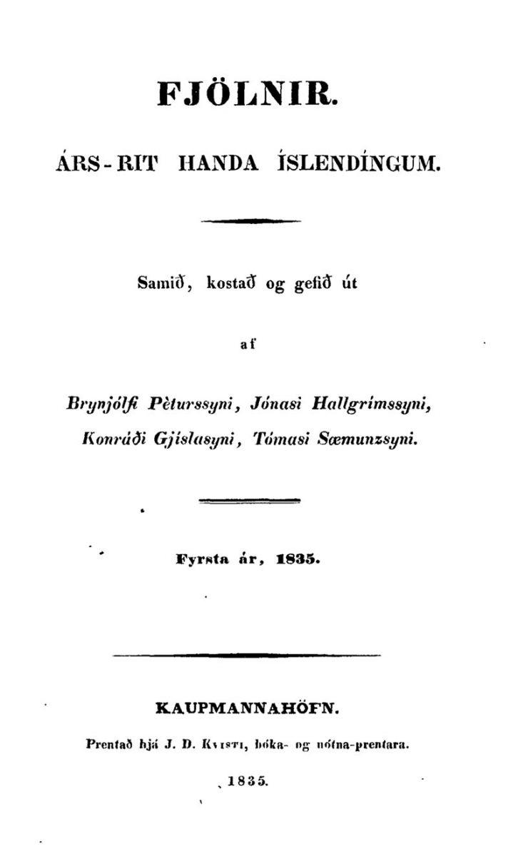 Islandzka gazeta, którą założyli i wydawali studiujący w Kopenhadze Islandczycy.