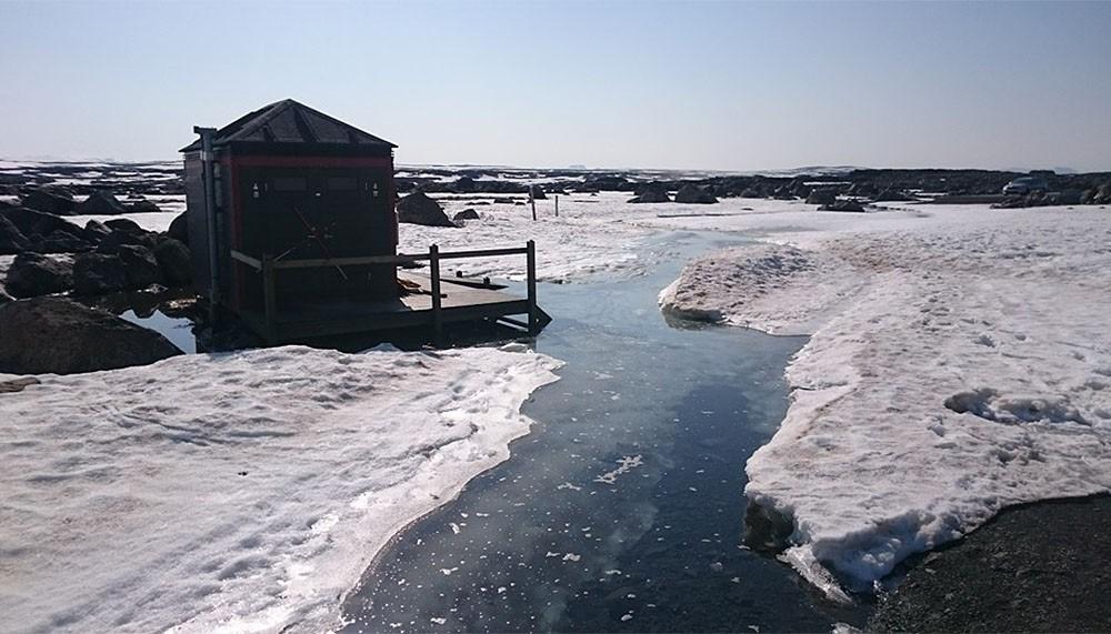 Zdjęcie wykonane przez pracowników Parku Narodowego Vatnajökull