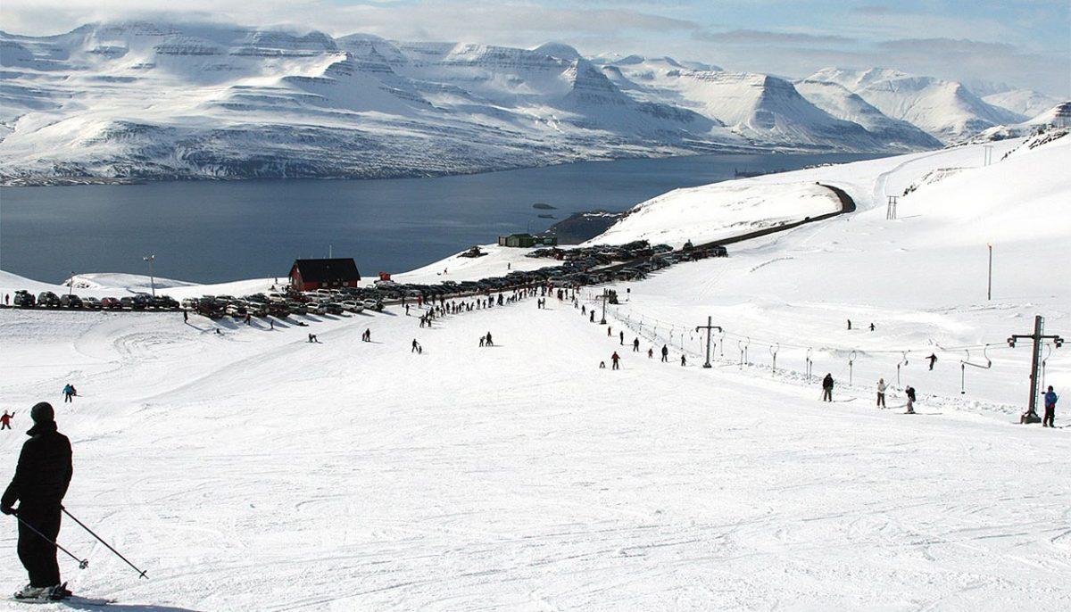 Stoki narciarskie Oddsskarð