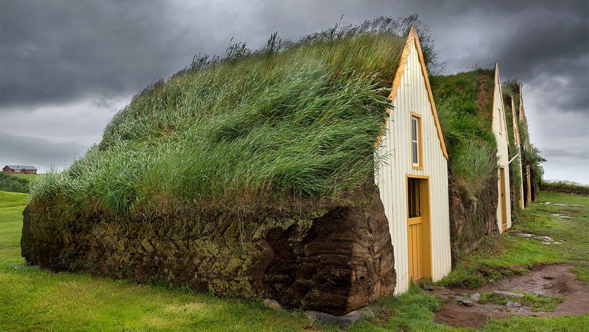 Torfowe domy w Glaumbær