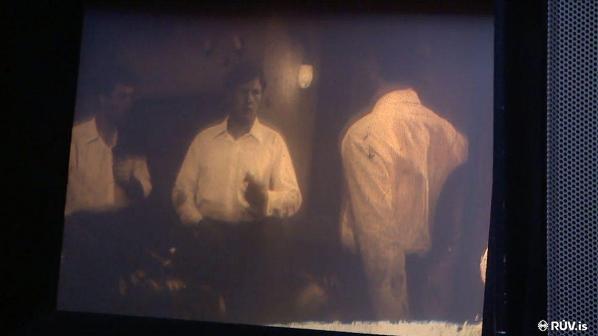 Zdjęcie z materiału filmowego RUV