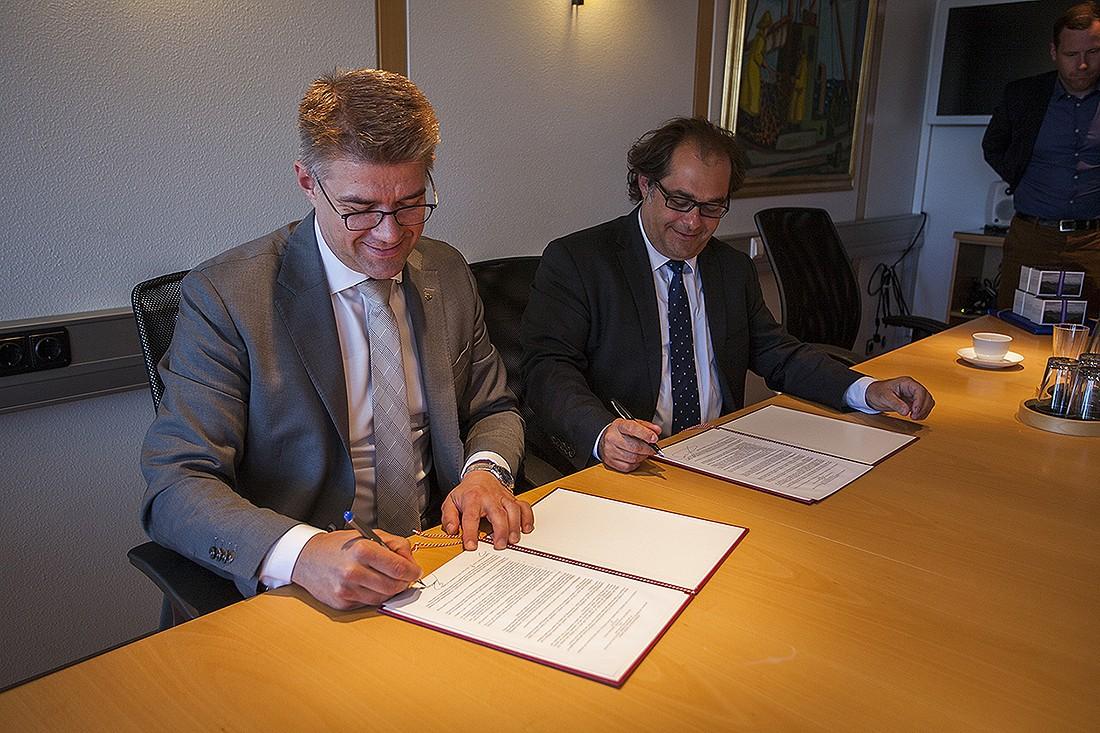 Podpisanie memorandum pomiędzy Islandią i Polską. fot. Justyna Grosel/ Iceland News Polska
