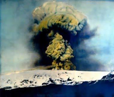 Erupcja Katli w 1918 roku