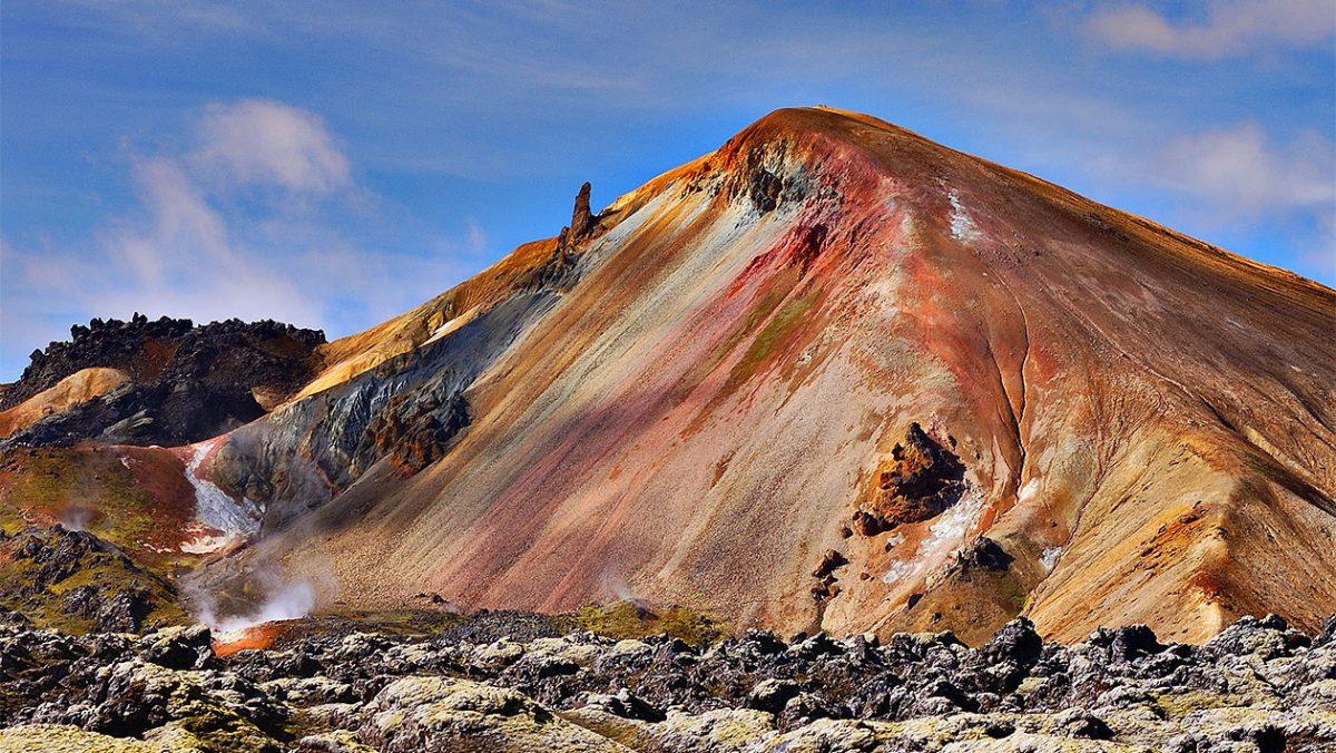 Wulkan Brennisteinsalda, w pobliżu Landmannalaugar