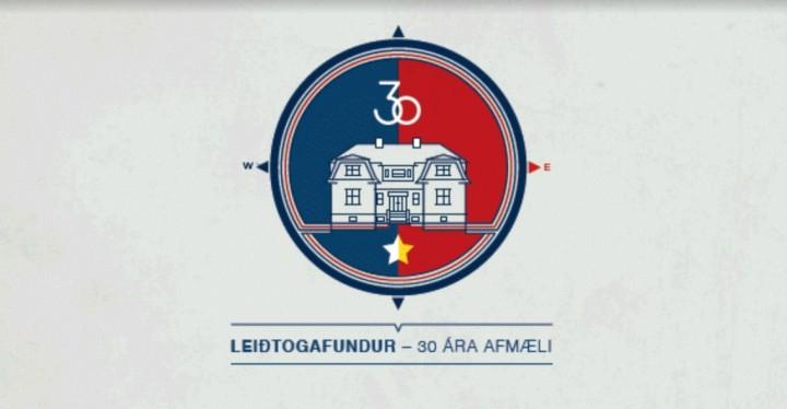 Logo obchodów 30-lecia szczytu