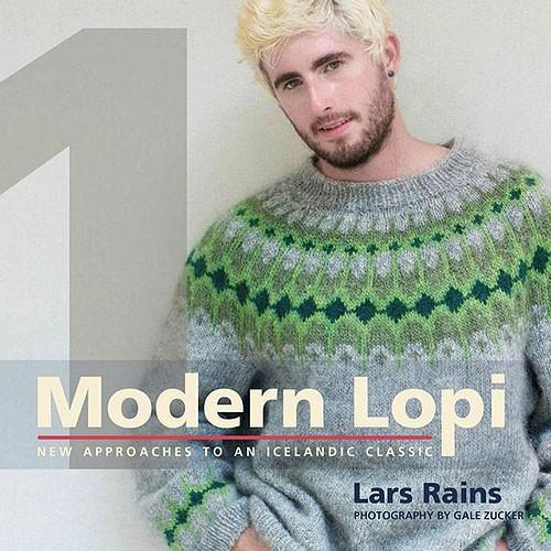 """Okładka książki """"Nowoczesne Lopi, nowe podejście do islandzkiej klasyki"""""""